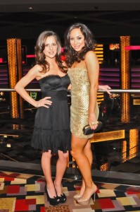 Kelly Monaco and Cheryl Burke at Nick Haque Koi